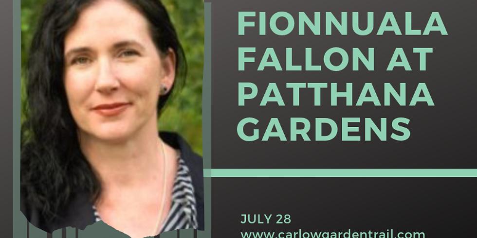 Fionnuala Fallon talks at Patthana Garden