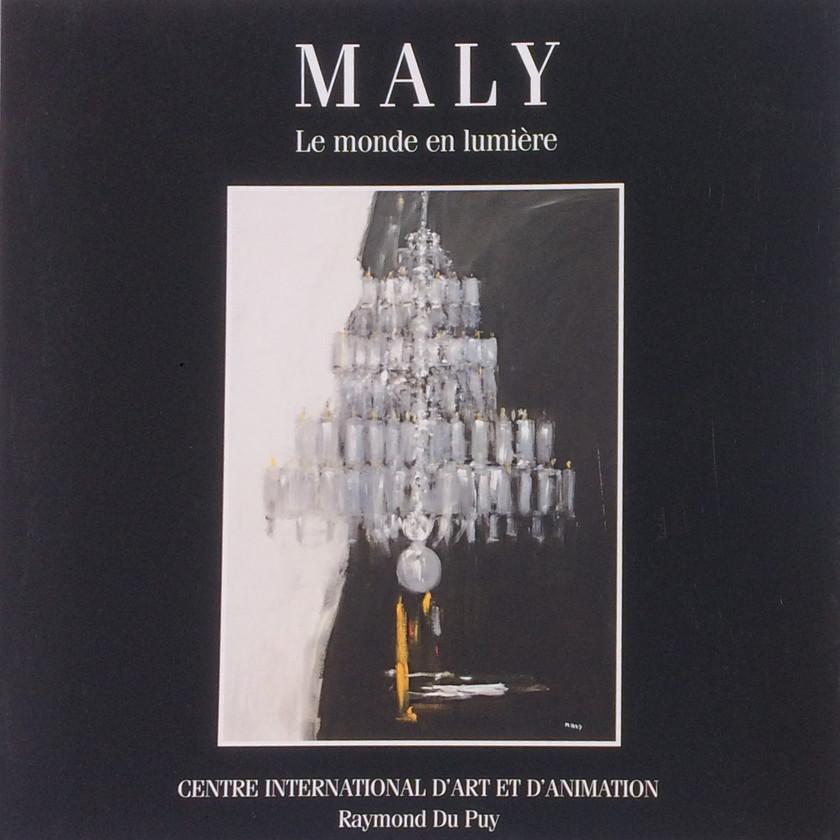 Maly- Artiste peintre - livre - Drôme - centre d'art Yvon Morin
