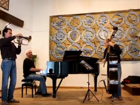 3 morceaux de Jazz, 1 fameux trio au centre d'art Yvon Morin