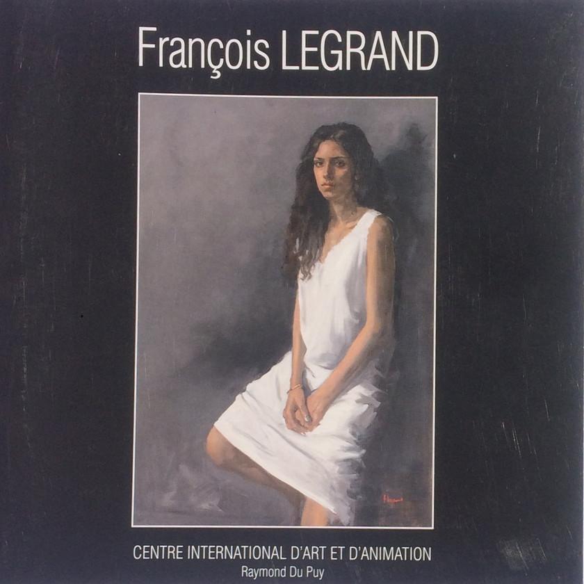 François Legrand - Artiste peintre - livre - Drôme - centre d'art Yvon Morin