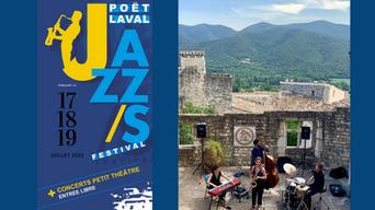 Festival Jazz à Poët - centre d'art Yv