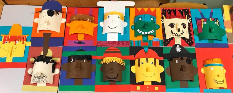 Superbes personnages en 3D