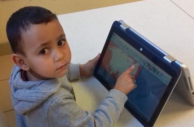 Création pour les maternelles grâce aux tablettes tactiles