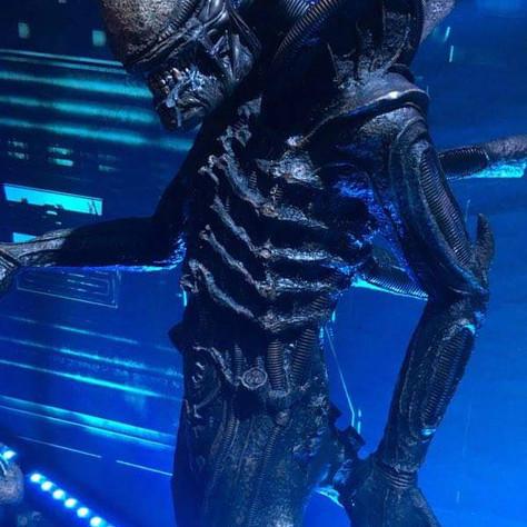 Réalisation pour une exposition sur le thème de la SF, Alien