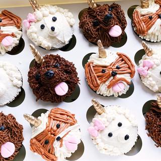 Unicorn Puppy Cupcakes