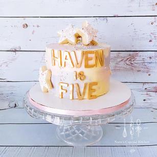 watercolor cake.