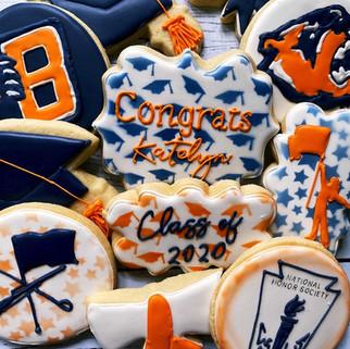 Bridgland High School Graduations Cookies