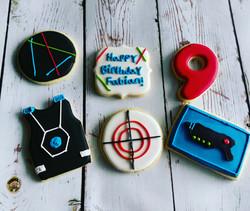 Laser Tag Cookies