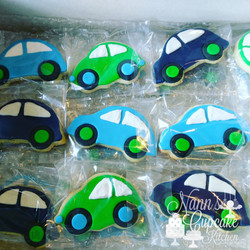 Little Blue Cars