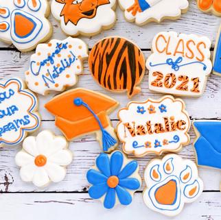 SHSU Graduation Cookies