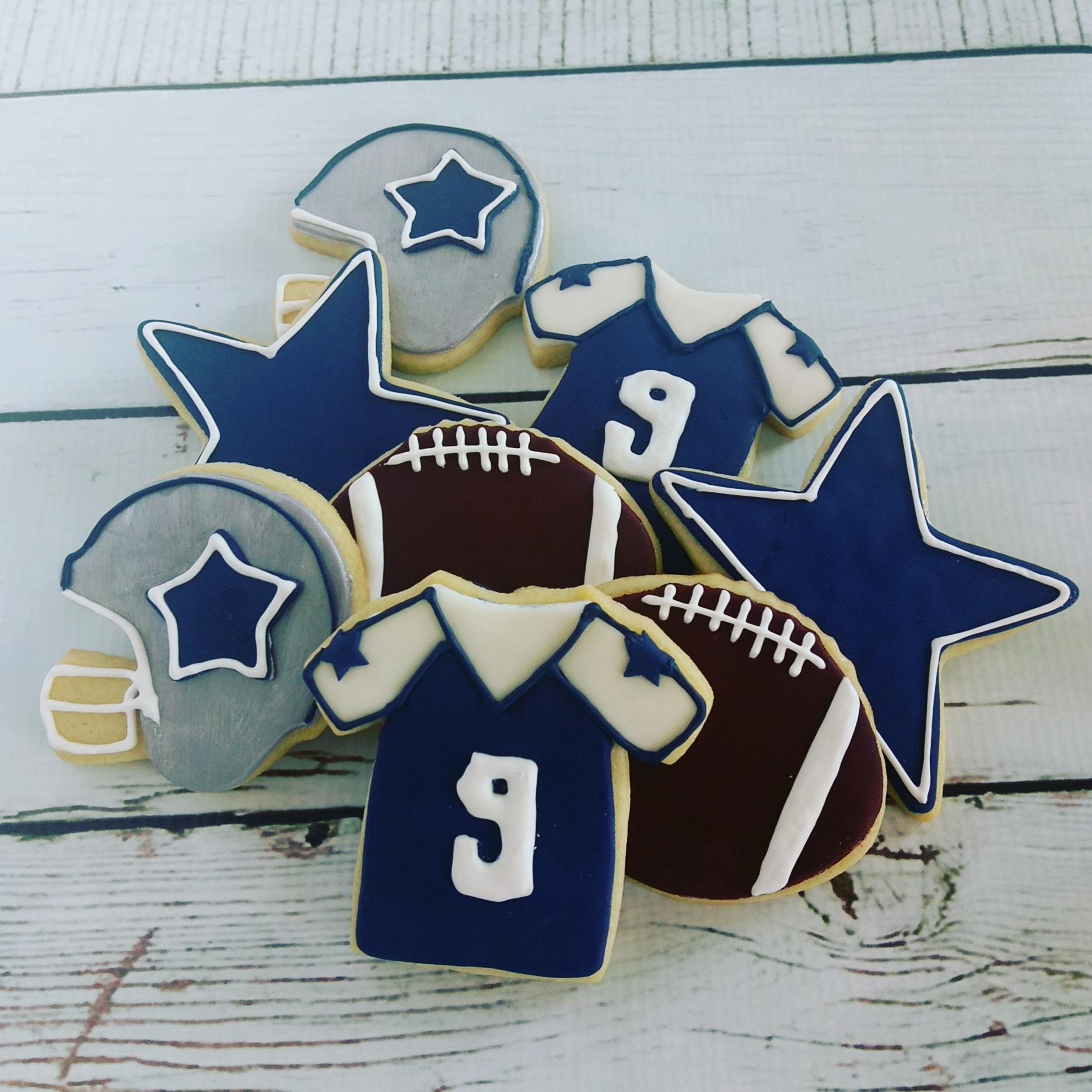 Dallas Cowboys Cookies