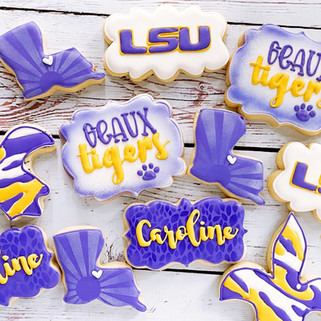 LSU Cookies