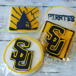 Southwestern Pirates Cookies