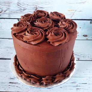 Chocolate Buttercream dessert cake.JPG