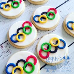 Olympics Cookies