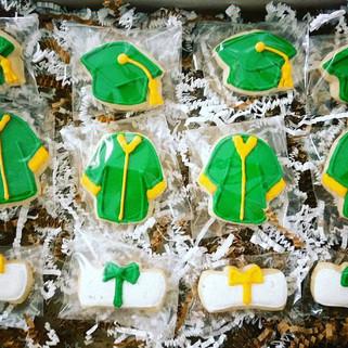 Mini Graduation Cookies