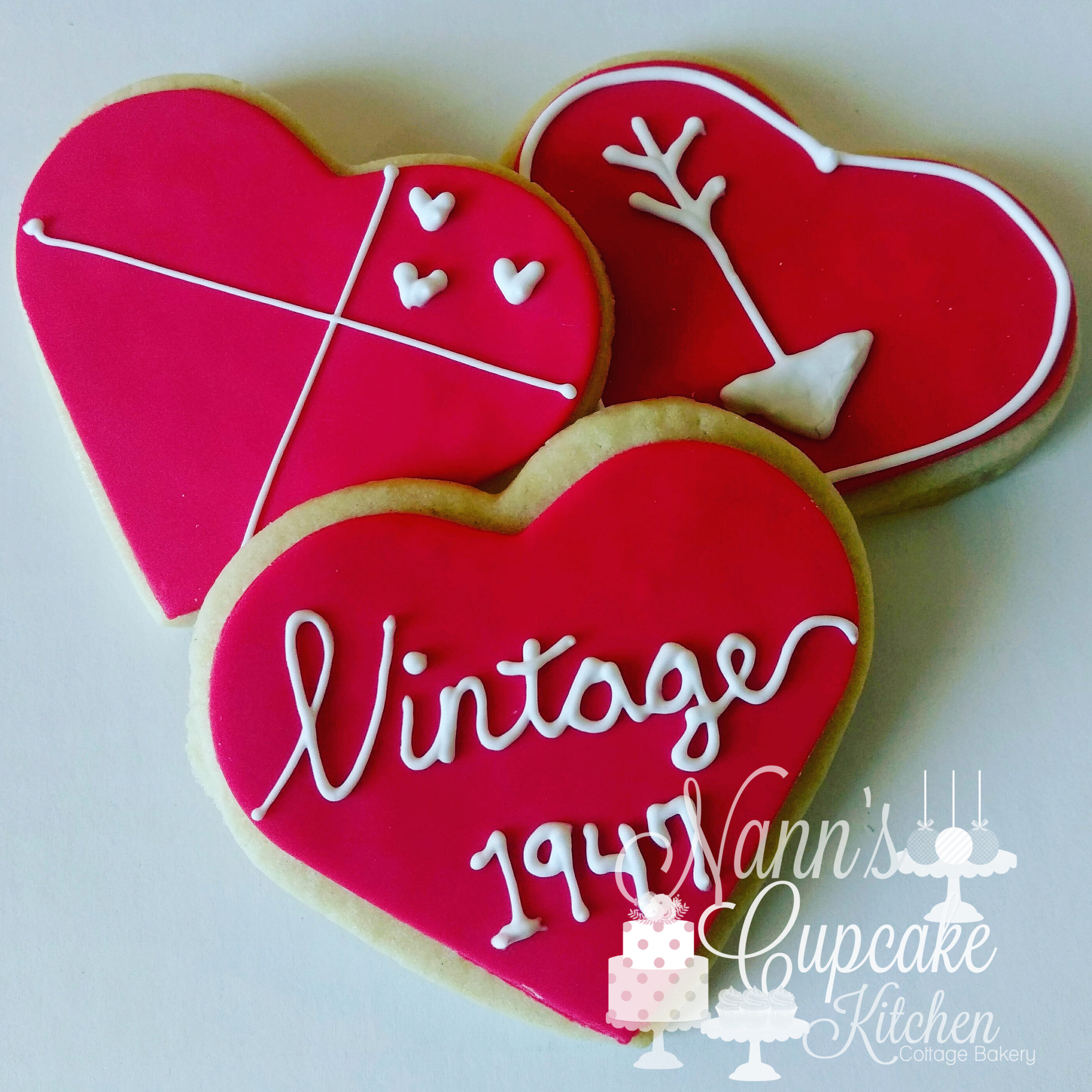 Vintage 1947 Birthday Cookies