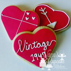 Vintage 1947 Birthday Cookies
