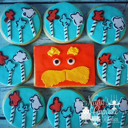 Lorax cookies