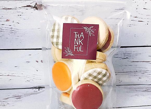 Thanksgiving Mini Cookies