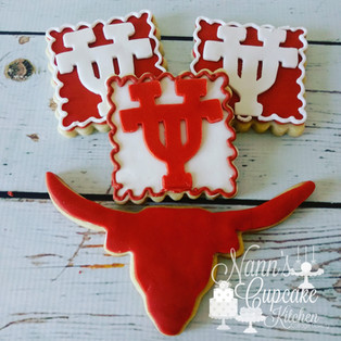 longhorn cookies