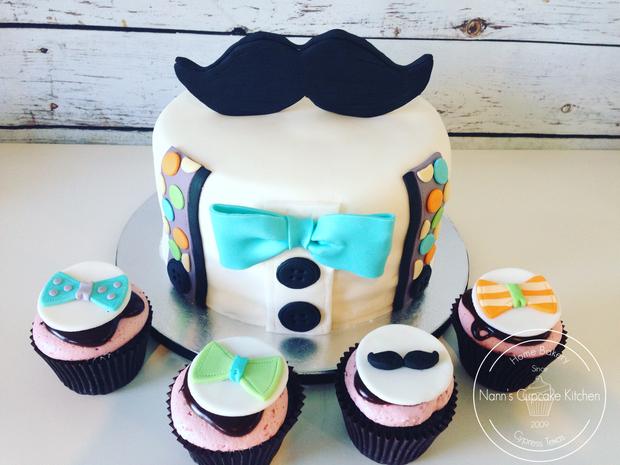 litttle man cake and cupcakes watermarke