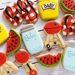 BBQ themed baby shower