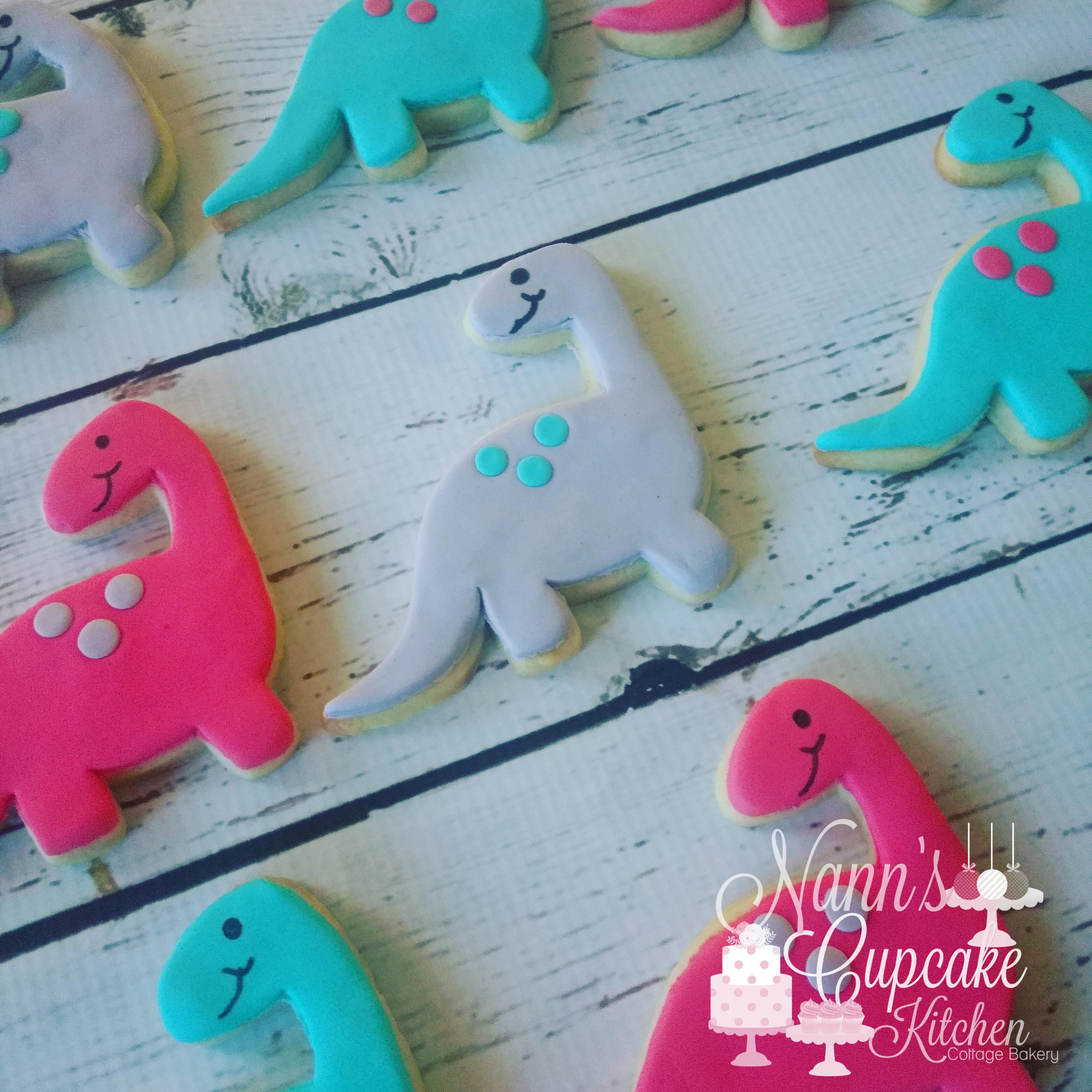 Dino Cookies