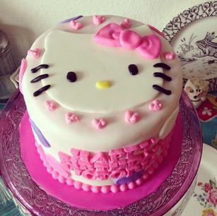 Instagram - Hello Kitty birthday cake.jp