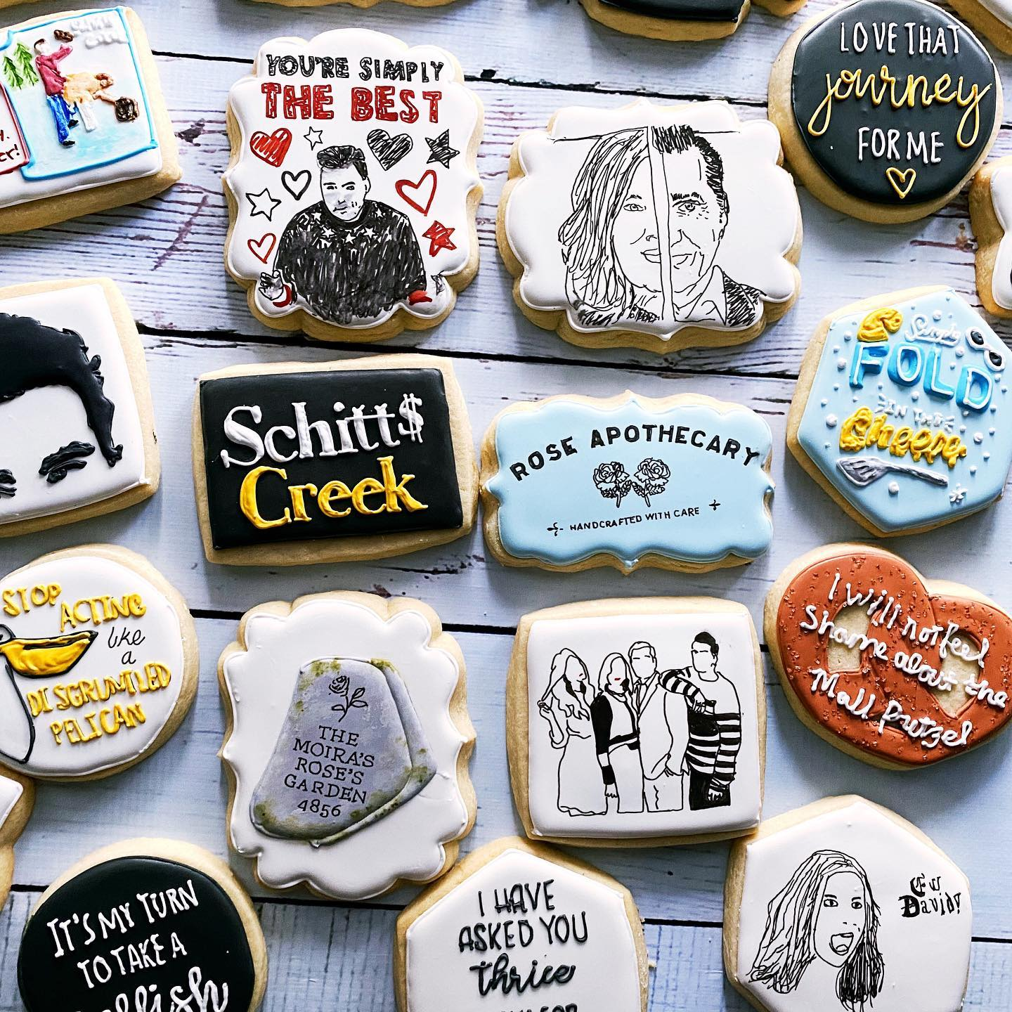 Schitt's Creek Cookies