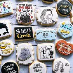 Schitt's Creek Cookies