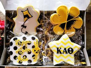 Kappa Alpha Theta cookies. #kappaalphath
