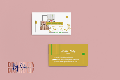 mockup-of-two-business-cards-placed-on-a