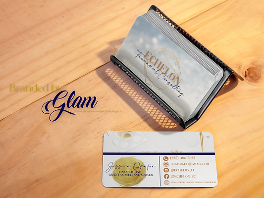 business-cards-placed-over-a-metal-busin