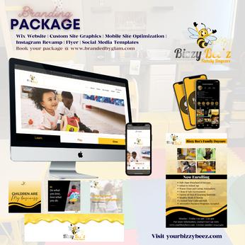 Bizzy Bee'z Branding Package.png