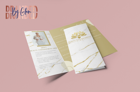 mockup-of-a-folded-trifold-brochure-over