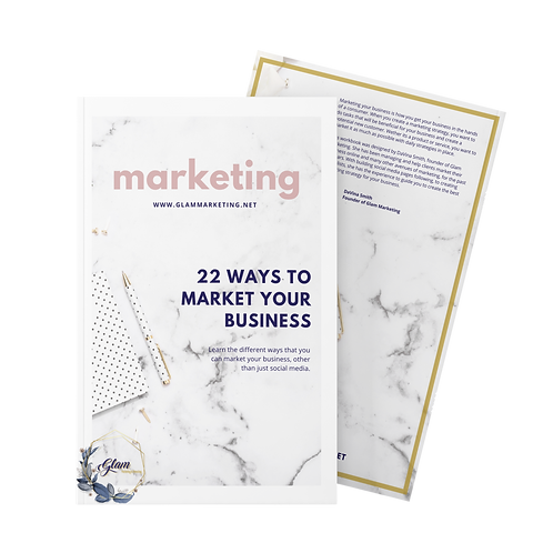 22 Ways to Market Your Business