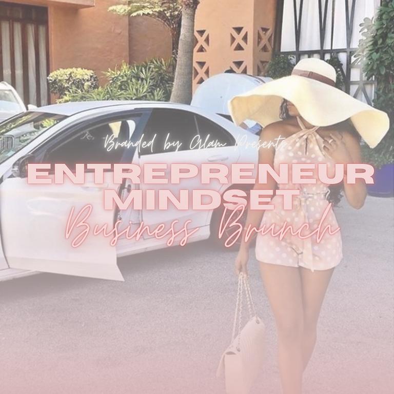 Entrepreneur Mindset Business Brunch