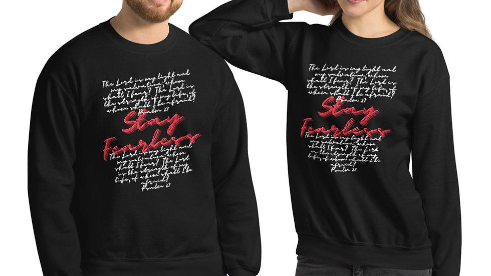 Stay Fearless Psalm 27 Unisex Sweatshirt