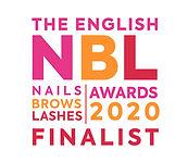 Finalist Logo - English Nails Brows Lash