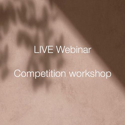 Competition Workshop Webinar