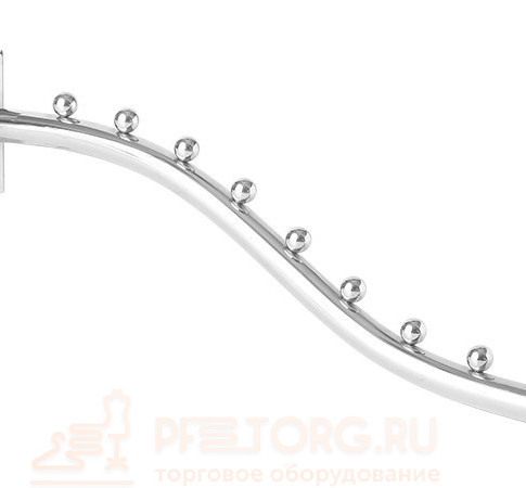 Кронштейн в профиль, 9 шариков