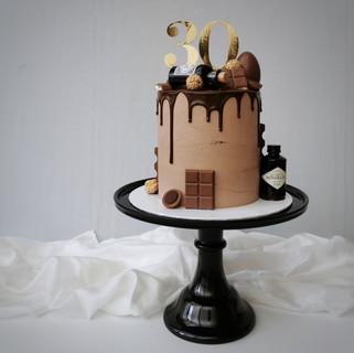 Schoko drip Torte
