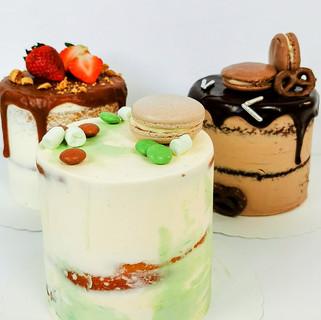 mini Torten Karamell