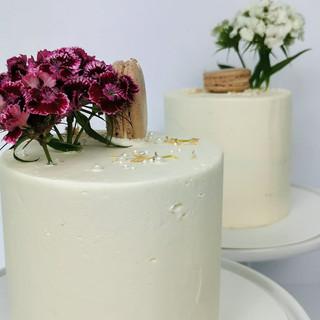 klassische Torten Silberhochzeit
