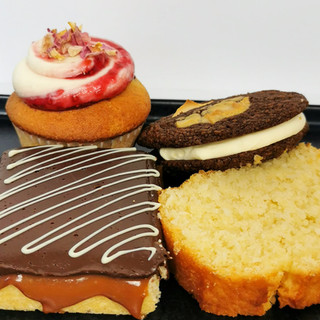 Cupcake, Cookie, Riegel, Brot