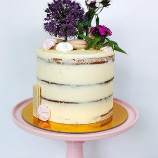Torte Meringue Blumen