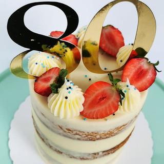 Torte 80. Geburtstag