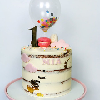 Geburtstagstorte Kind Ballon Wolken