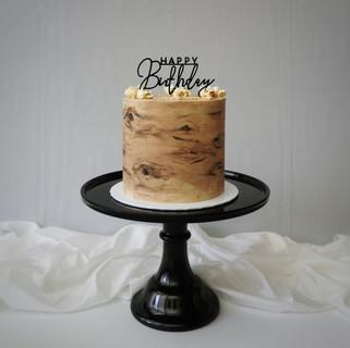 Holz Optik Torte